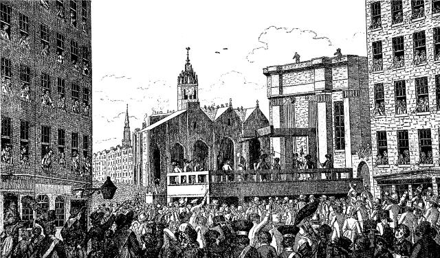Edinburgh royal-mile-public-execution courtesy of www.news.stv