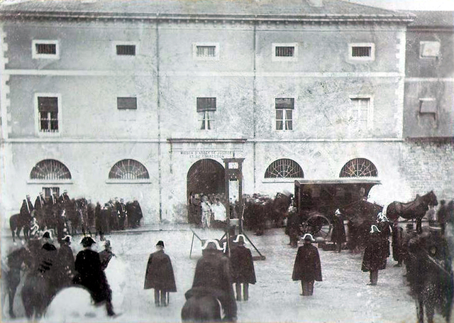 The Execution of Pierre Vaillat. Lons-le-Saunier, 1897. Courtesy of www.theappendix.net and Wikimedia Commons.