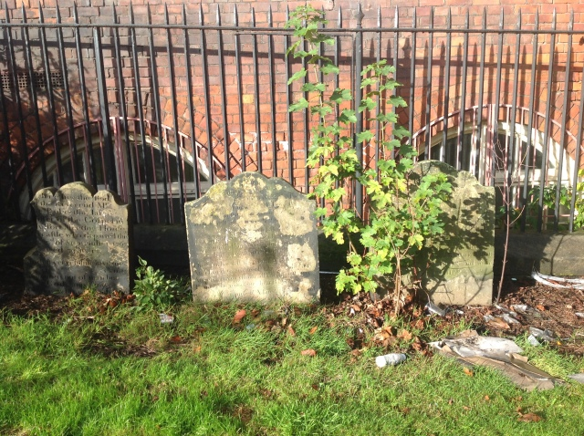 Dissenters headstones at Ballast Hill