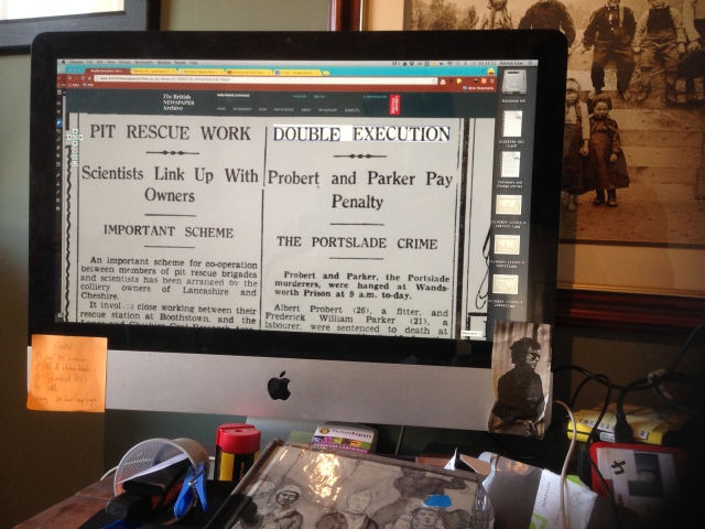 My Daily PhD Workstation complete with Bob Dylan mascot (Bottom Right).