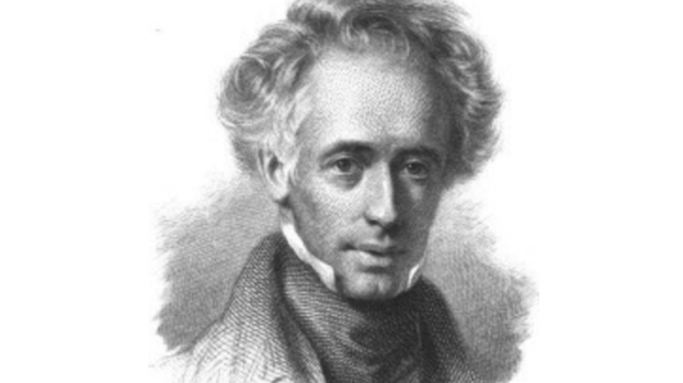 George Combe, Founder of the Edinburgh Phrenological Society. Image courtesy of www.stv.com