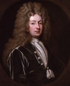 William Congreve, by Sir Godfrey Kneller, Bt (died 1723) courtesy of http://en.wikipedia.org/wiki/William_Congreve