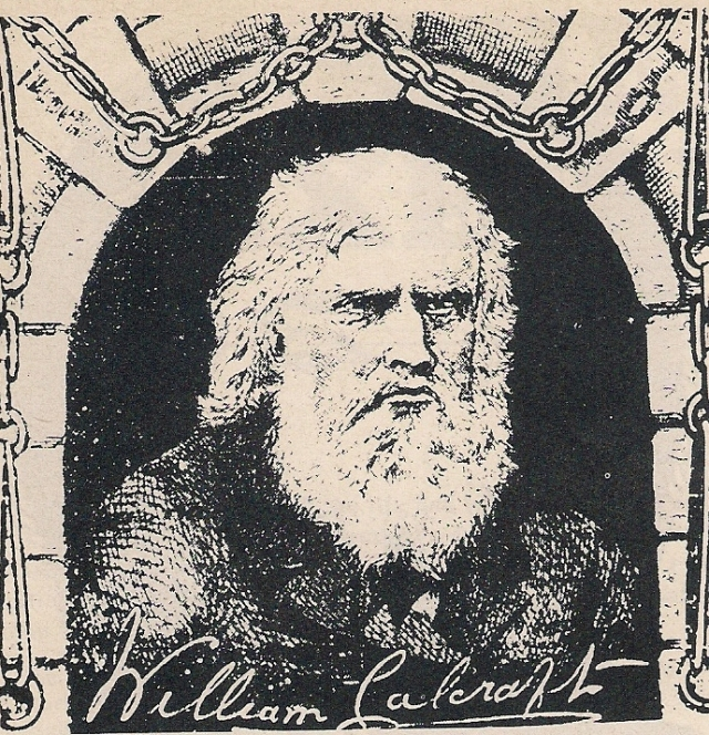 Executioner William Calcraft from a broadside entitled The Life of Calcraft. Courtesy of www.blackcountrymuse.com