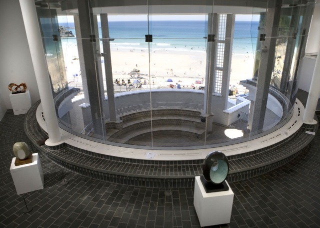 Interior of Tate St Ives.