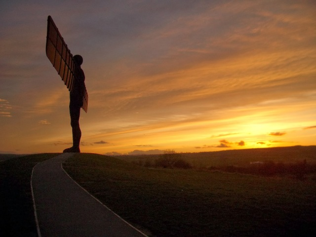 Angel of the North. Image courtesy of Jon Ratcliffe
