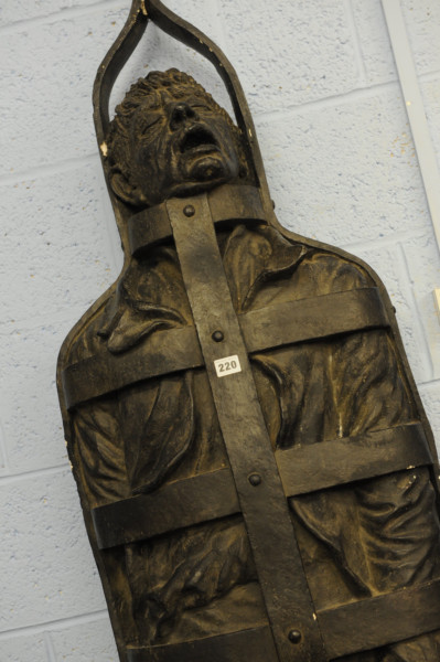 The life-size model of William Jobling, the last man to be gibbeted in England.