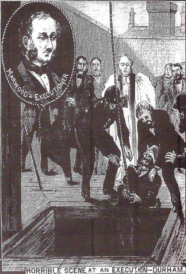 Illustrated Police News Botched execution 1883 Durham
