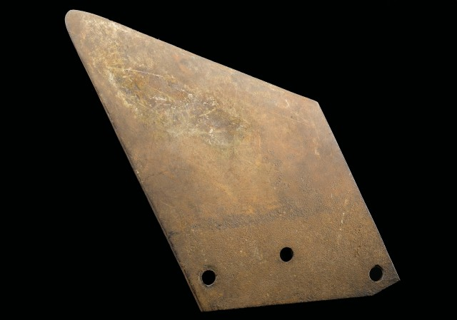 Blade from a guillotine, France, c.1794.