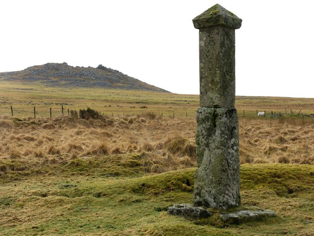 Memorial to Charlotte Dymond on Bodmin Moor. Image courtesy of www.cornwalls.co.uk