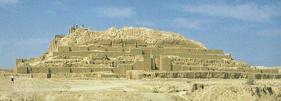 Ziggurat-Chogha-Zanbil-Susa-Iran