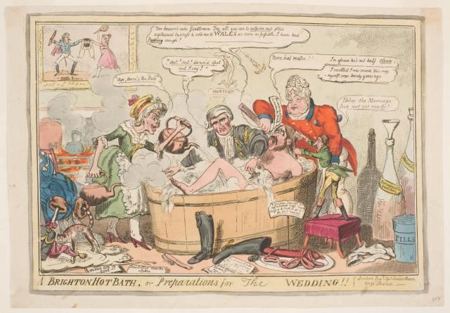 A Brighton hot Bath - George Cruickshank 1807